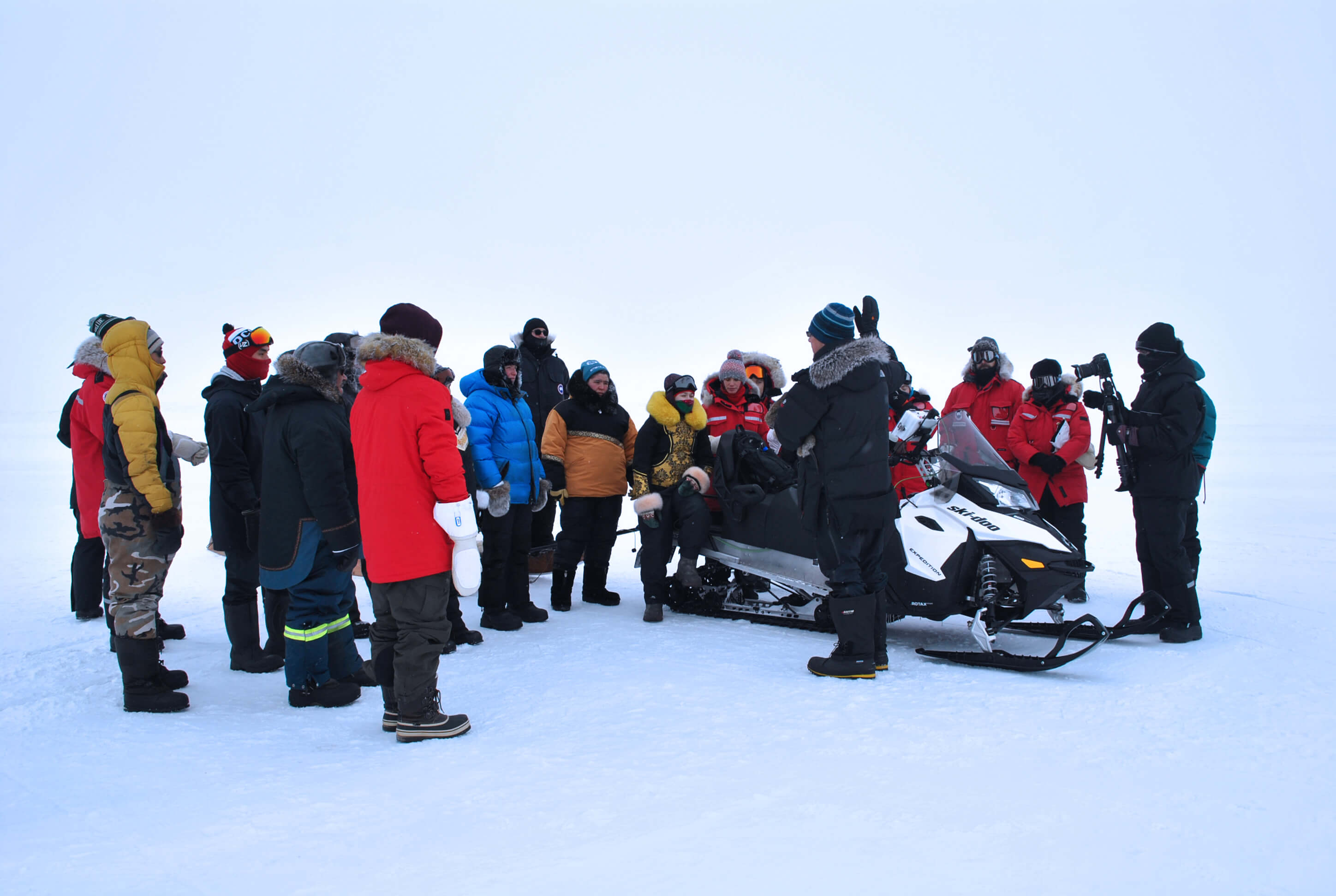 Sentinel North International Arctic Field School - Sea ice expedition near Iqaluit