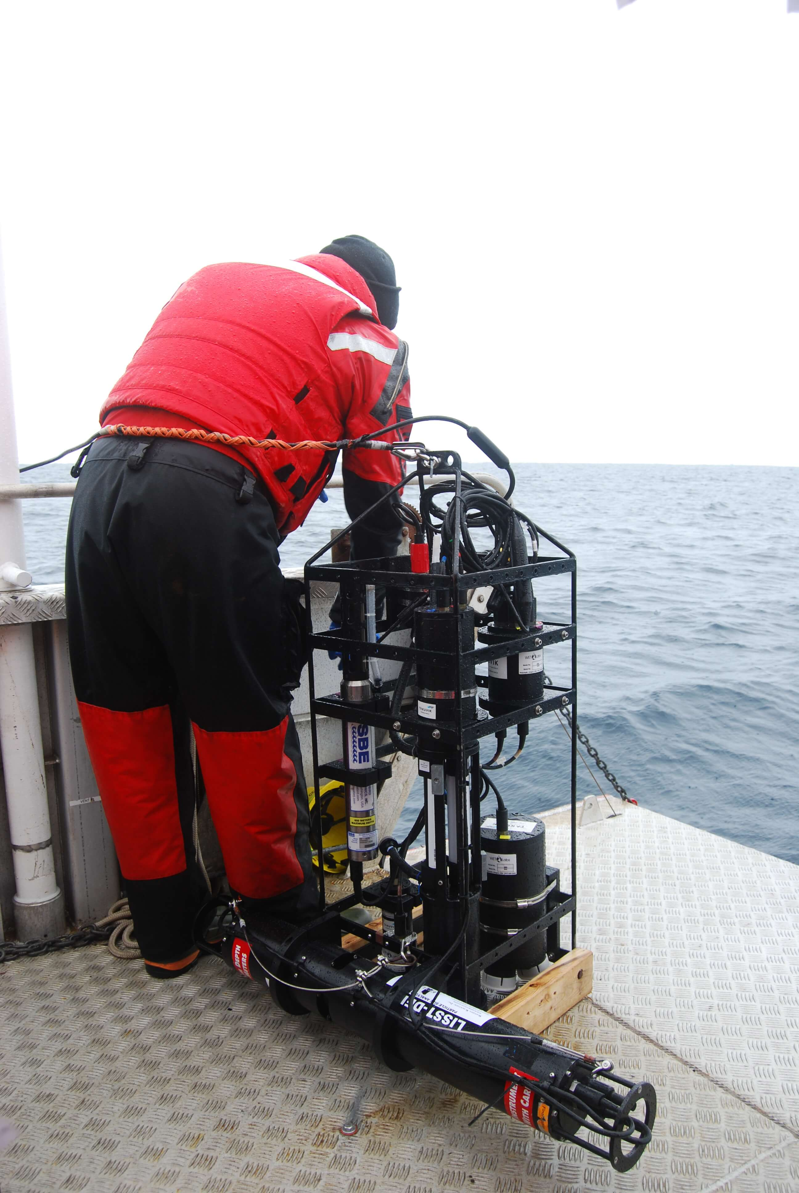 Sensors being deployed in the Arctic - Sentinel North international phd school