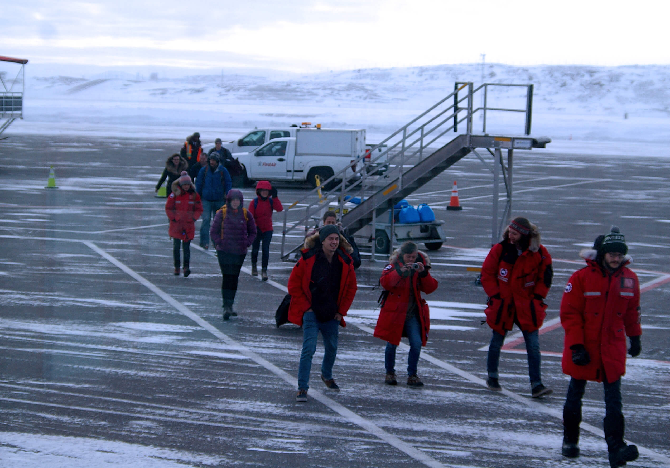Sentinel North International Arctic Field School - Arrival in Iqaluit