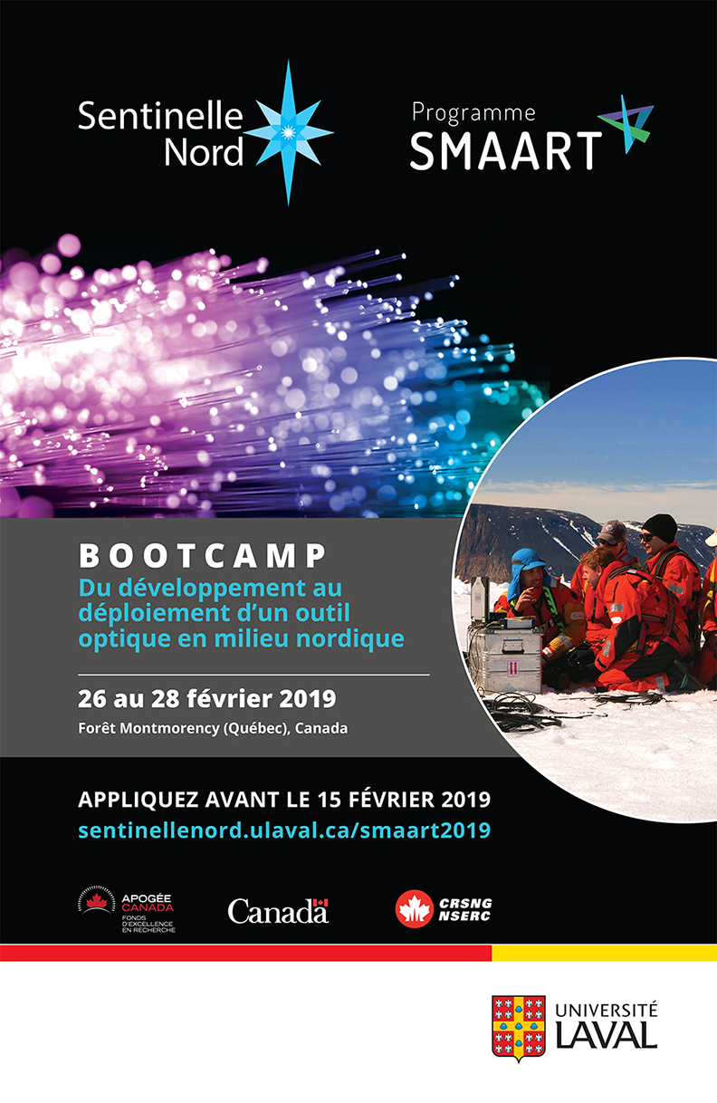 sentinel north bootcamp - the development of an optical tool in northern environment