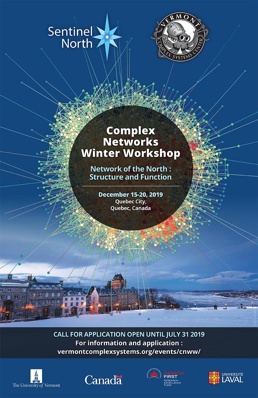 Complex Networks Winter Workshop 2019 | Sentinel North